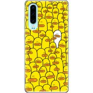 Силиконовый чехол BoxFace Huawei P30 Yellow Ducklings (36851-up2428)