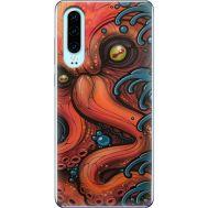 Силиконовый чехол BoxFace Huawei P30 Octopus (36851-up2429)