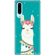 Силиконовый чехол BoxFace Huawei P30 Cold Llama (36851-up2435)