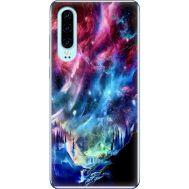 Силиконовый чехол BoxFace Huawei P30 Northern Lights (36851-up2441)