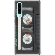 Силиконовый чехол BoxFace Huawei P30 Старая касета (36851-up2445)