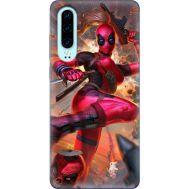 Силиконовый чехол BoxFace Huawei P30 Woman Deadpool (36851-up2453)