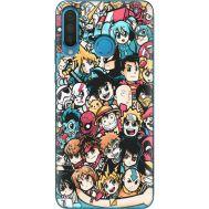 Силиконовый чехол BoxFace Huawei P30 Lite Anime Stickers (36871-up2458)