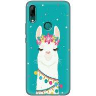 Силиконовый чехол BoxFace Huawei P Smart Z Cold Llama (37381-up2435)