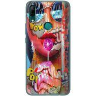 Силиконовый чехол BoxFace Huawei P Smart Z Colorful Girl (37381-up2443)
