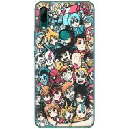 Силиконовый чехол BoxFace Huawei P Smart Z Anime Stickers (37381-up2458)