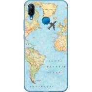 Силиконовый чехол BoxFace Huawei P20 Lite Карта (33127-up2434)