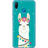 Силиконовый чехол BoxFace Huawei P20 Lite Cold Llama (33127-up2435)