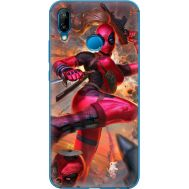 Силиконовый чехол BoxFace Huawei P20 Lite Woman Deadpool (33127-up2453)