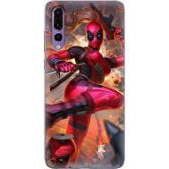 Силиконовый чехол BoxFace Huawei P20 Pro Woman Deadpool (33498-up2453)