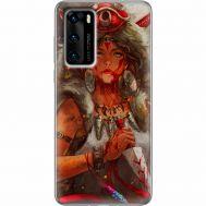 Силиконовый чехол BoxFace Huawei P40 Принцесса Мононоке (39746-up2451)