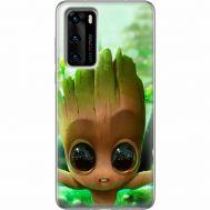 Силиконовый чехол BoxFace Huawei P40 Groot (39746-up2459)