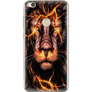 Силиконовый чехол BoxFace Huawei P8 Lite 2017 Fire Lion (29365-up2437)