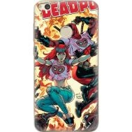 Силиконовый чехол BoxFace Huawei P8 Lite 2017 Deadpool and Mary Jane (29365-up2454)