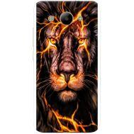 Силиконовый чехол BoxFace Huawei Y3 2017 Fire Lion (30977-up2437)