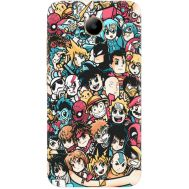 Силиконовый чехол BoxFace Huawei Y3 2017 Anime Stickers (30977-up2458)
