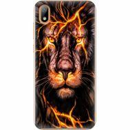 Силиконовый чехол BoxFace Huawei Y5 2019 Fire Lion (37076-up2437)