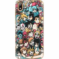 Силиконовый чехол BoxFace Huawei Y5 2019 Anime Stickers (37076-up2458)