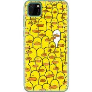 Силиконовый чехол BoxFace Huawei Y5p Yellow Ducklings (40022-up2428)
