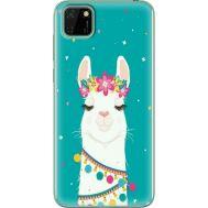 Силиконовый чехол BoxFace Huawei Y5p Cold Llama (40022-up2435)