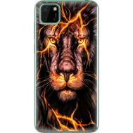 Силиконовый чехол BoxFace Huawei Y5p Fire Lion (40022-up2437)