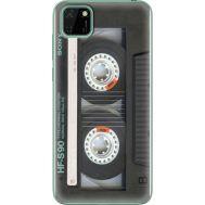 Силиконовый чехол BoxFace Huawei Y5p Старая касета (40022-up2445)