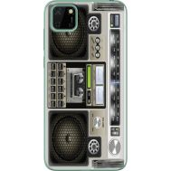 Силиконовый чехол BoxFace Huawei Y5p Old Boombox (40022-up2446)