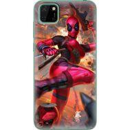 Силиконовый чехол BoxFace Huawei Y5p Woman Deadpool (40022-up2453)