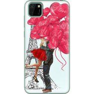 Силиконовый чехол BoxFace Huawei Y5p Love in Paris (40022-up2460)