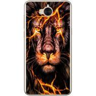 Силиконовый чехол BoxFace Huawei Y5 2017 Fire Lion (30871-up2437)