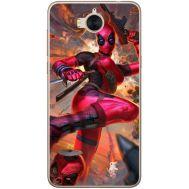 Силиконовый чехол BoxFace Huawei Y5 2017 Woman Deadpool (30871-up2453)