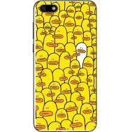 Силиконовый чехол BoxFace Huawei Y5 2018 Yellow Ducklings (33370-up2428)
