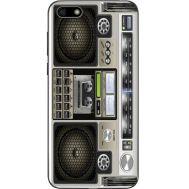 Силиконовый чехол BoxFace Huawei Y5 2018 Old Boombox (33370-up2446)