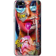 Силиконовый чехол BoxFace Huawei Y5 2018 Colorful Girl (33370-up2443)
