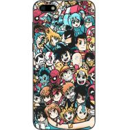 Силиконовый чехол BoxFace Huawei Y5 2018 Anime Stickers (33370-up2458)