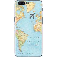 Силиконовый чехол BoxFace OnePlus 5 Карта (33857-up2434)
