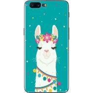 Силиконовый чехол BoxFace OnePlus 5 Cold Llama (33857-up2435)