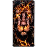 Силиконовый чехол BoxFace OnePlus 5 Fire Lion (33857-up2437)