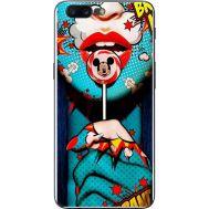 Силиконовый чехол BoxFace OnePlus 5 Girl Pop Art (33857-up2444)