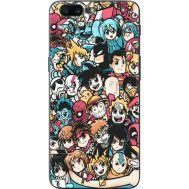 Силиконовый чехол BoxFace OnePlus 5 Anime Stickers (33857-up2458)