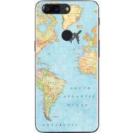 Силиконовый чехол BoxFace OnePlus 5T Карта (33858-up2434)
