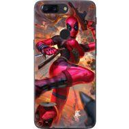 Силиконовый чехол BoxFace OnePlus 5T Woman Deadpool (33858-up2453)