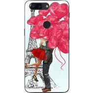 Силиконовый чехол BoxFace OnePlus 5T Love in Paris (33858-up2460)