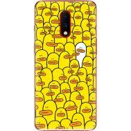 Силиконовый чехол BoxFace OnePlus 7 Yellow Ducklings (37256-up2428)
