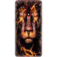 Силиконовый чехол BoxFace OnePlus 7 Fire Lion (37256-up2437)