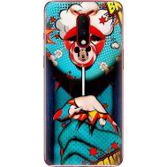 Силиконовый чехол BoxFace OnePlus 7 Girl Pop Art (37256-up2444)