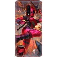 Силиконовый чехол BoxFace OnePlus 7 Woman Deadpool (37256-up2453)
