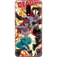 Силиконовый чехол BoxFace OnePlus 7 Deadpool and Mary Jane (37256-up2454)