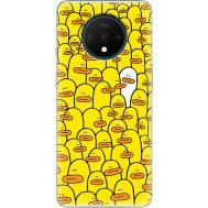 Силиконовый чехол BoxFace OnePlus 7T Yellow Ducklings (38481-up2428)