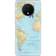 Силиконовый чехол BoxFace OnePlus 7T Карта (38481-up2434)